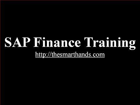 SAP Finance Training - General Ledger Master Data (Video 4 ...