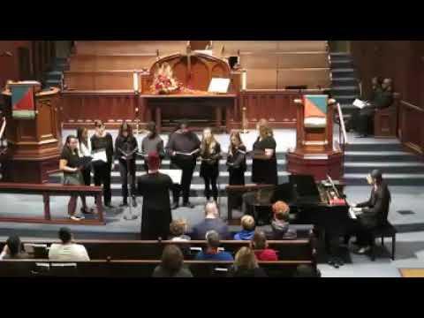 First United Methodist Youth Choir: Pie Jesu by Mary Lynn Lightfoot.