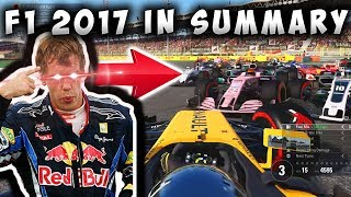 The F1 2017 Game In Summary