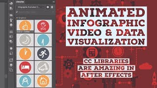 CC Libraries Are Amazing In After Effects - Animated Infographic Tutorial [9/48]