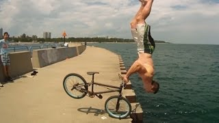 Tim Knoll  Parkour BMX Most Creative Bike Stunts
