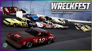 TALLADEGA TERROR! | Wreckfest | NASCAR Legends