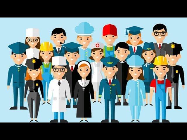 Школьники выбирают профессию