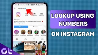 How to Find Someone on Instagram Using Their Phone Number | Guiding Tech
