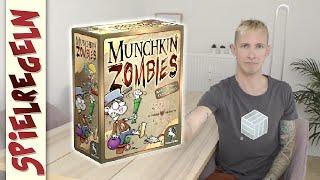 Munchkin Zombies (Pegasus Spiele) | Spielanleitung | thajo