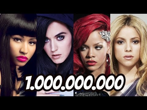 All Music Videos With + 1 Billion Views on YouTube (UPDATED)