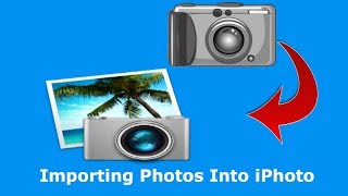 Importing photos into iPhoto