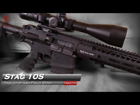 "Stag 10S .308 Battle Rifle: a Little More ""Boom"" Than ""Pew"""