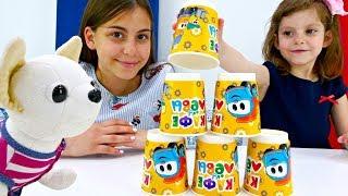 Челлендж для детей с Чичилав. Видео для девочек с заданиями и игрушками.