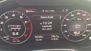 Audi Q7 3,0 TFSI 100-250 km/h