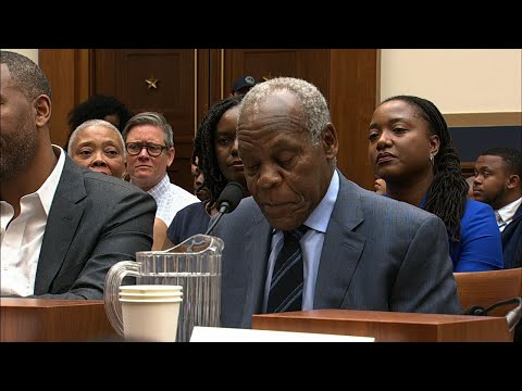 The debate over reparations catapulted from the campaign trail to Congress on Wednesday. Witnesses at a House panel included actor and activist Danny Glover and writers Ta-Nehisi Coates and Coleman Hughes. (June 19)