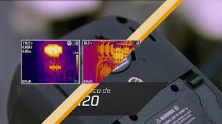 Multímetro termográfico industrial FLIR DM285 con IGMTM