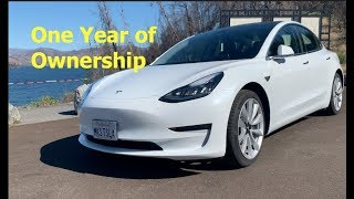 Tesla Model 3 One Year Later