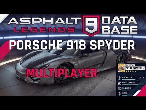 Porsche 918 Spyder Multigiocatore ????????????
