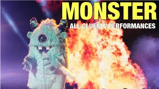 The Masked Singer Monster: All Clues, Performances & Reveal