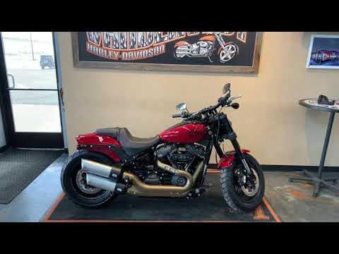 2021 Harley-Davidson Cruiser FXFBS Fat Bob 114 at Vandervest Harley-Davidson, Green Bay, WI 54303
