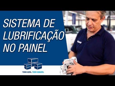Sistema de lubrificação no painel