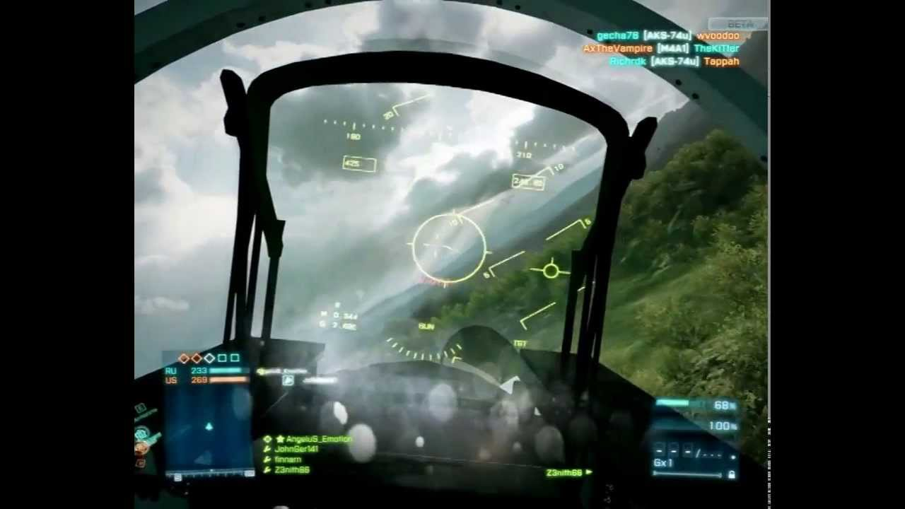 This Battlefield 3 Glitch Pits Man Vs Jet In An Unfair Dogfight