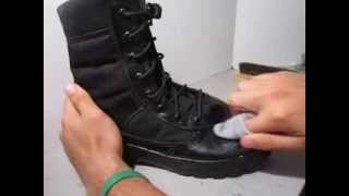 How To Shine Police Boots