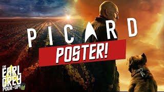 New Star Trek: Picard Poster   LeVar Burton (LaForge) Talks About Returning To Trek!