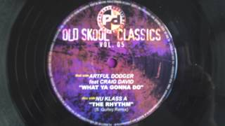 Artful Dodger - What Ya Gonna Do // Public Demand (2003) [reissue]