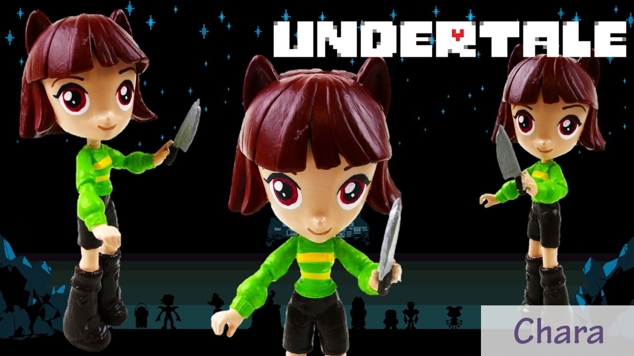 Undertale Chara Toy Custom Action Figure Doll Tutorial | Evies Toy House