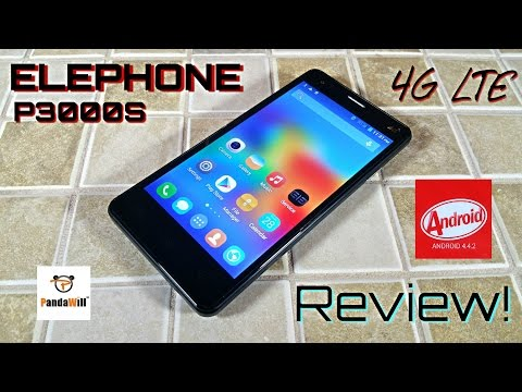 "Elephone P3000S 4G LTE - [Review] - MTK6592 [Fingerprint] 2GB/16GB NFC OTG 4.4.2 [5.0"" IPS OGS]"