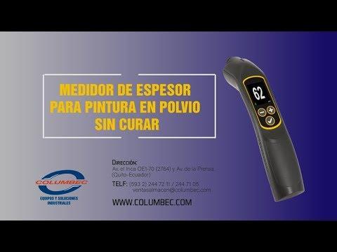 Medidor de espesor de pintura en polvo
