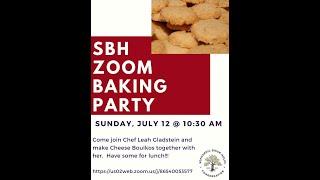 Zoom Baking Party Episode 1 Boyikos With Leah Gladstein