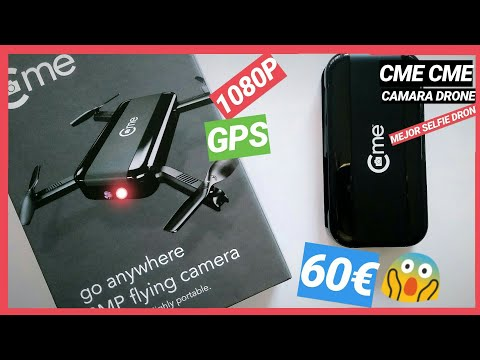 Cme cme drone camara impresionante