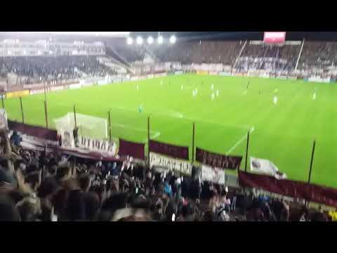 """""""Lanus es semi finalista de la libertadores !!!"""" Barra: La Barra 14 • Club: Lanús"""