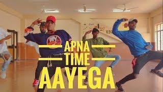 Apna time aayega ||Dance (Cover)- Gully Boy| Ranveer Singh & Alia Bhatt||DIVINE | Beat On  Crew