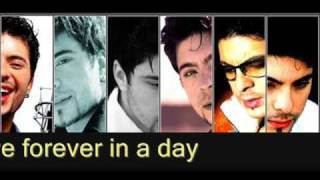 Tose Proeski-Forever in a day with lyrics(NEW 2009)