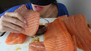 11 lbs Salmon ! (5kg de saumon) INCREDIBLE - WORLD RECORD - ASMR