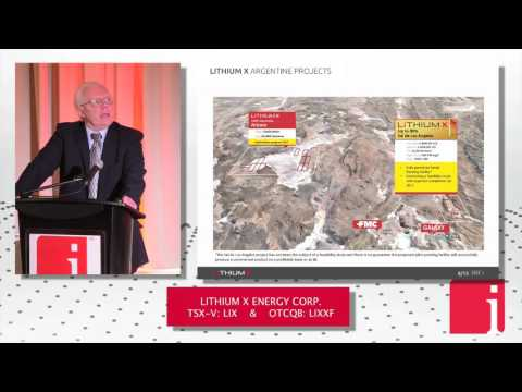"Lithium X CEO presents ""Charging our World, Fuelling the F ... Thumbnail"