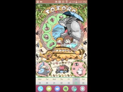 Totoro poster theme
