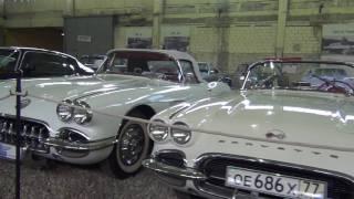Музей ретро автомобилей «Московский транспорт» на Рогожском Валу (видео)