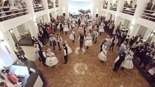 preview picture of video 'Velké Pavlovice - Krojovaný ples 2015 - záznam Sadováčku a besedy'