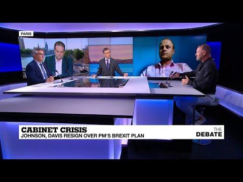 Cabinet crisis: Johnson, Davis resign PM''s Brexit plan