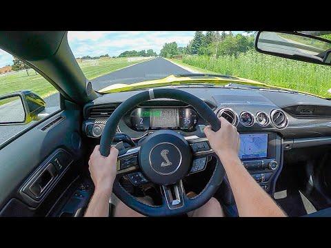 2021 Ford Mustang GT500 - POV Test Drive (Binaural Audio)