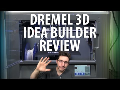 Dremel 3D Idea Builder Unboxing and Review