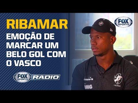 FALA, RIBAMAR! O atacante do Vasco concede entrevista exclusiva ao FOX Sports
