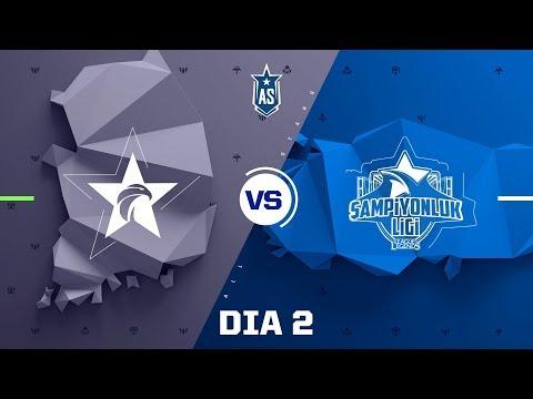 Brasil x Sudeste Asiático (All-Star 2017 - 5x5)