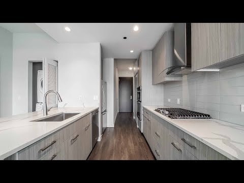 A River North one-bedroom #1215 at the amenity-rich SixForty apartments