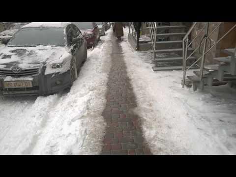 Про тернопільський тротуар з підігрівом