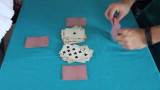 """How to Play """"SPEED"""" by the Game Doctor (Card Game)"""