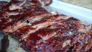 How to Smoke Spare Ribs on the Grill Dome Kamado