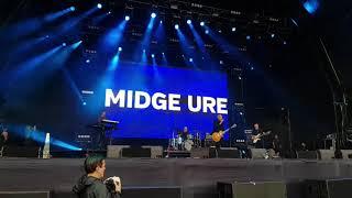 Midge Ure at Lets Rock Liverpool, July 2019