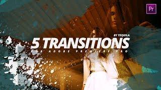 5 КРУТЫХ видео ПЕРЕХОДОВ для Adobe Premiere Pro CC   Скачать БЕСПЛАТНО пресеты для видео