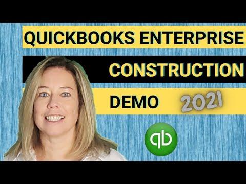 Quickbooks Enterprise Contractor Demo 2021